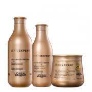 L'Oréal Professionnel Serie Expert Absolut Repair Gold Quinoa + Protein - Shampoo+Condicionador+Mascara