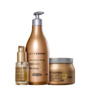 L'Oréal Professionnel Serie Expert Absolut Repair Gold Quinoa + Protein - Shampoo+Mascara+Sérum