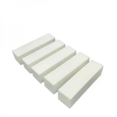 La Beauty Bloco Polidor de Unhas Branco Para Acabamento - 05 Unidades