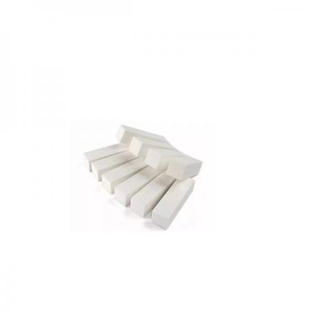 La Beauty Bloco Polidor de Unhas Branco Para Acabamento - 10 Unidades