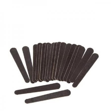 La Beauty Mini Lixa Para Unhas Black - 20 Unidades