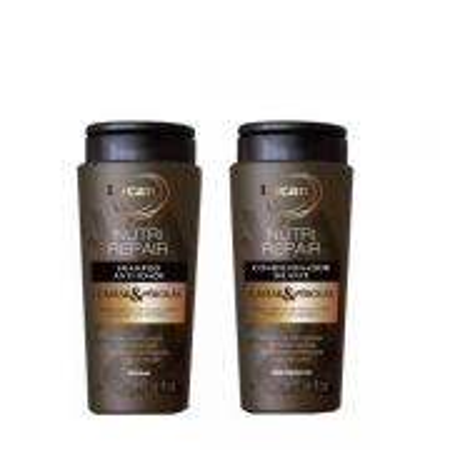 Lacan Anti-Idade Caviar & Perolas Nutri Repair - Shampoo+Condicionador 300ml