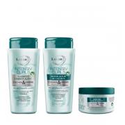 Lacan Cachos & Ondas Intensiv Curls Shampoo+Modelador 300ml+Mascara 300g