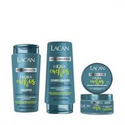 Lacan Hidratante Hidra Cachos Shampoo+Condicionador 300ml+Mascara 300g