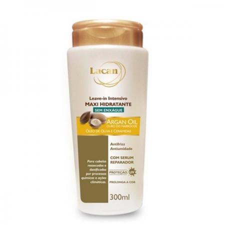 Lacan Maxi Hidratante Argan Oil - Leave-in 300ml