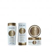 Lacan Sol, Piscina e Mar Shampoo+Condicionador 300ml+Mascara 300g