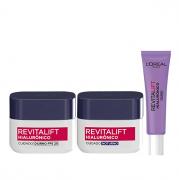 L'Oréal Paris Revitalift Hialurônico Dia+Noite 49g+Area dos Olhos 15g