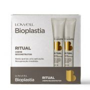 Lowell Bioplastia Capilar Display Ritual Creme Reconstrutor Home Care 12x25ml