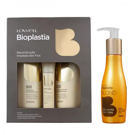 Lowell Bioplastia Kit Home Care (3 Produtos)+Balsamo da Cura