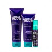 Lowell Dynamic Shampoo240ml+Condicionador 200ml+Tonico Antiqueda 60ml