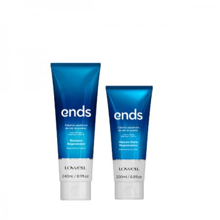 Lowell Ends Regenerador - Shampoo 240ml+Mascara 200ml