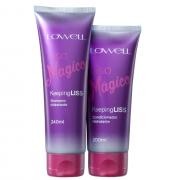 Lowell Kepping Liss Liso Magico (Shampoo 240ml+Condicionador 200ml)
