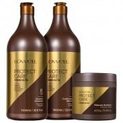 Lowell Protect Care - Shampoo 1l + Condicionador 1l +Mascara 450g