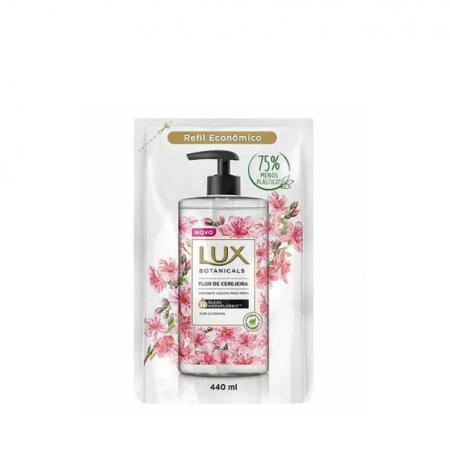 Lux Sabonete Líquido Botanicals Flor de Cerejeira - Refil 440ml