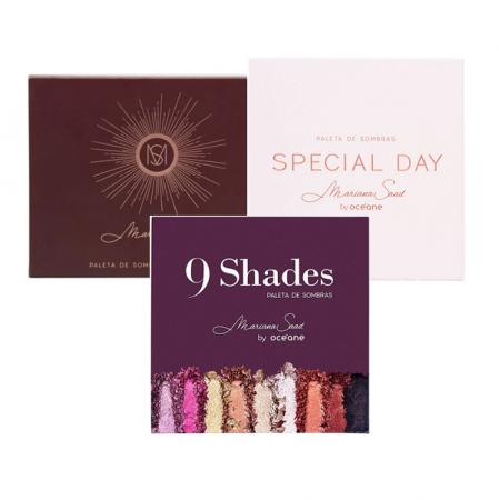 Mariana Saad Kit Paleta de Sombras (12 Shades+Special Day+9 Shades)