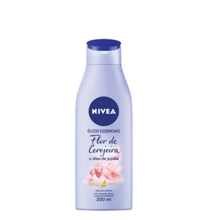 Nivea Loção Deo-Hidratante Flor de Cerejeira 200ml