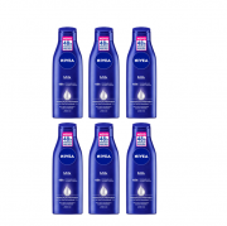 NIVEA Milk - Hidratante Corporal 200ml C/6