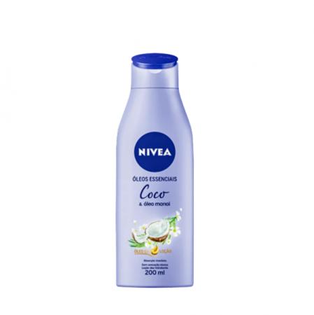 NIVEA Mousse Coco e Óleo Monoi - Hidratante Corporal 200ml
