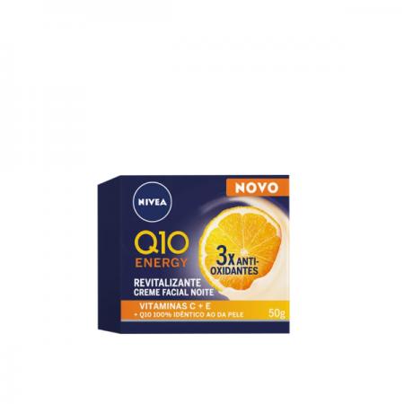 NIVEA Q10 Energy Noite - Creme Anti-Idade 50g