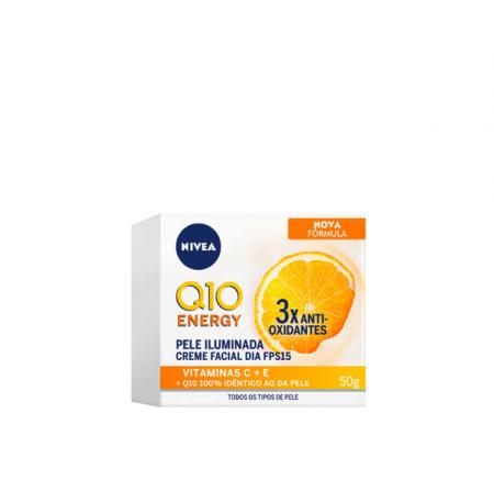 NIVEA Q10 Energy Plus C FPS 15 Dia - Creme Anti-Idade 50ml