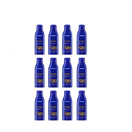 NIVEA Q10 + Vitamina C Pele Seca e Extraseca - Creme Firmador 200ml C/12