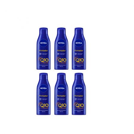 NIVEA Q10 + Vitamina C Pele Seca e Extraseca - Creme Firmador 200ml C/6