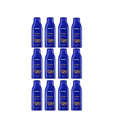NIVEA Q10 + Vitamina C Pele Seca e Extraseca - Creme Firmador 400ml C/12