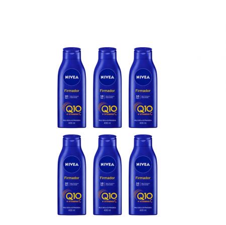 NIVEA Q10 + Vitamina C Pele Seca e Extraseca - Creme Firmador 400ml C/6