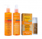 Payot Complexo Vitamina C Sérum Anti-Idade 30ml+Tônico Facial 220ml+Loção Hidratante Corporal 210g
