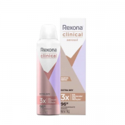 Rexona Clinical Desodorante Aerosol Feminino Extra Dry 150ml