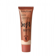 Ruby Rose Base Líquida Soft Matte Nude - 01
