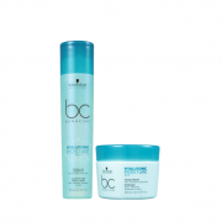 Schwarzkopf BC Bonacure Hyaluronic Moisture Kick - Shampoo+Mascara