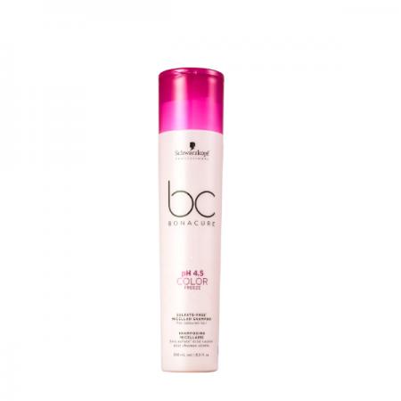 Schwarzkopf BC Bonacure pH 4.5 Color Freeze Micellar - Shampoo sem Sulfato 250ml