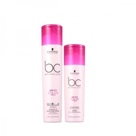 Schwarzkopf BC Bonacure pH 4.5 Color Freeze Micellar Silver Home Care Duo (2 Produtos)