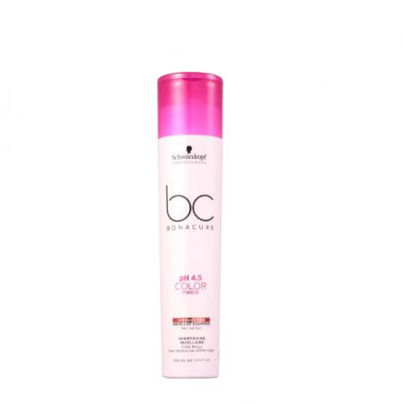 Schwarzkopf BC Bonacure pH 4.5 Color Freeze Micellar Vibrant Red - Shampoo 250ml