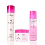 Schwarzkopf Professional BC Bonacure pH 4.5 Color Freeze Micellar - Shampoo 250ml+Máscara 200ml+Spary Conditioner 200ml
