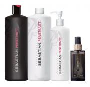 Sebastian Penetraitt Kit Profissional completo com 4 produtos