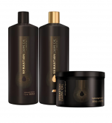 Sebastian Professional Dark Oil Salon Trio (3 Produtos)