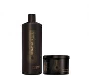 Sebastian Professional Dark Oil Shampoo 1L+Mascara 500g