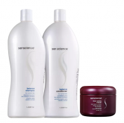 Senscience Balance - Shampoo+Condicionador 1L+Mascara Inner Restore Intensif 150ml