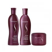 Senscience True Hue Shampoo 300ml+Condicionador 280ml+Leave-In Moisture Lock 150ml
