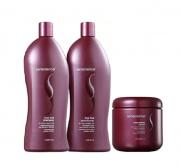 Senscience True Hue Shampoo + Condicionador 1L + Mascara Intensif 500gr
