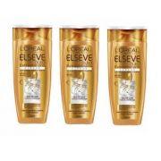 Shampoo Elseve Óleo Extraordinário Cachos 200ml - 3 Unidades