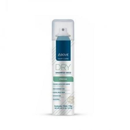 Shampoo Seco Above Fresh Reduz Frizz Brilho Maciez 150ml