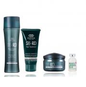 SHRD Nutra-Therapy Shampoo 250ml+Mascara 70ml+Leave-in Restaurador 80ml+Luminous Elixir 25ml