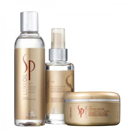 Sp System Professional Luxe Oil Keratin Trio (3 Produtos)