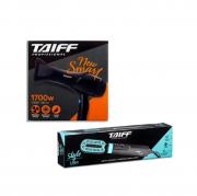 Taiff Secador New Smart 1700w + Style Escova Secadora e Alisadora 127V