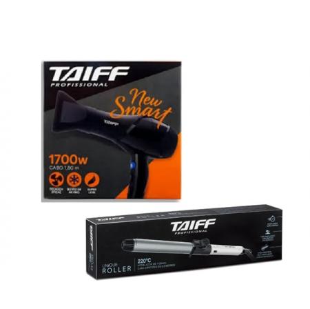 Taiff Secador New Smart 1700w+Unique Roller Modelador de Cachos 1