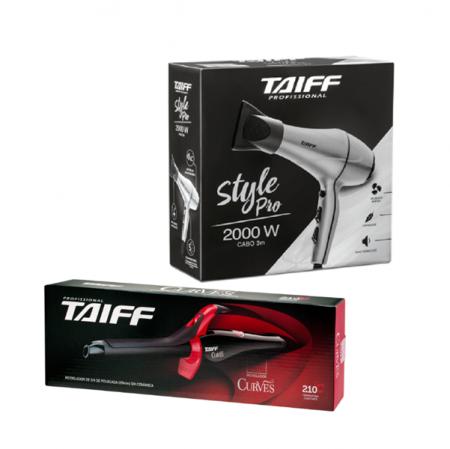 Taiff Secador Style Pro 2000W 127V+Curves Modelador De Cachos 3/4