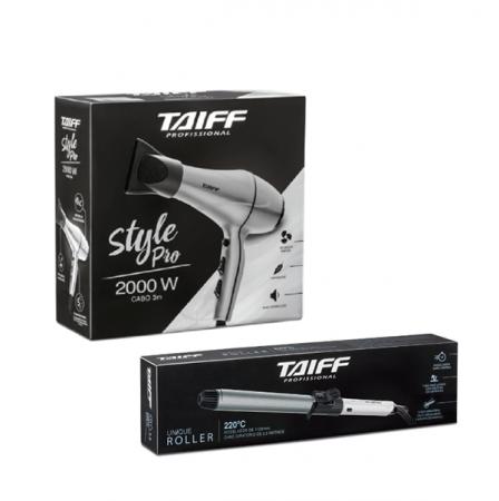 Taiff Secador Style Pro 2000W 127V+Unique Roller Modelador de Cachos 1